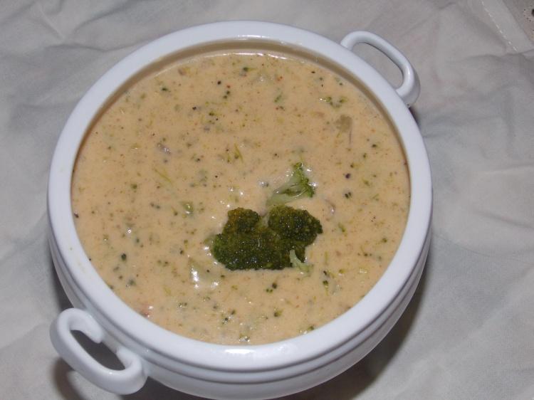 Gluten Free Cheddar Broccoli Soup